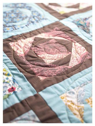 diamond block quilt