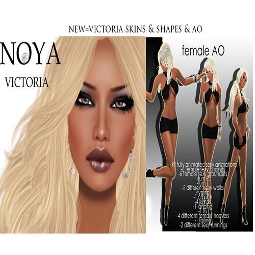 NOYA NEW VICTORIA - Skin+Shape+AO by Cherokeeh Asteria