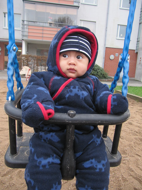 First time to play the swing