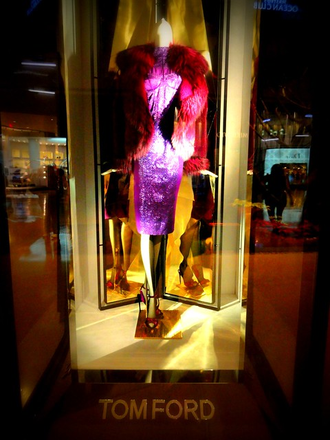 Tom Ford Fall/Winter 2011 window display