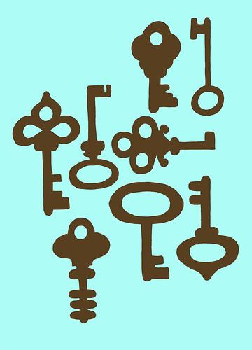 keys print design