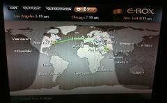 New York to Abu Dhabi (UAE)