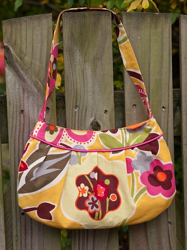 Spring buttercup bag