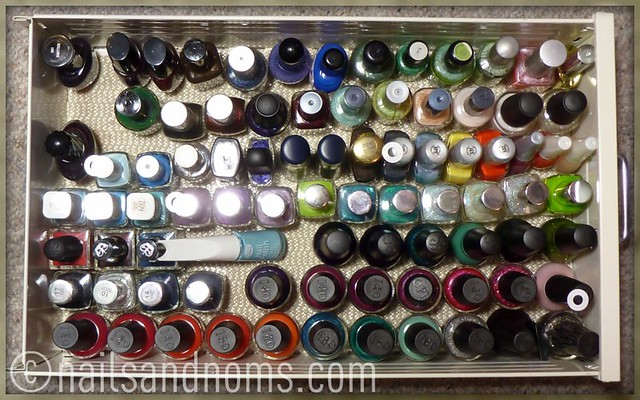Rie's Polish Stash - 4th Drawer (as of 11/28/11)