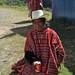 Mujer Triqui (o Driqui) en Plan de Zaragoza, cerca de San Andrés Chicahauxtla, Oaxaca, Mexico por Lon&Queta