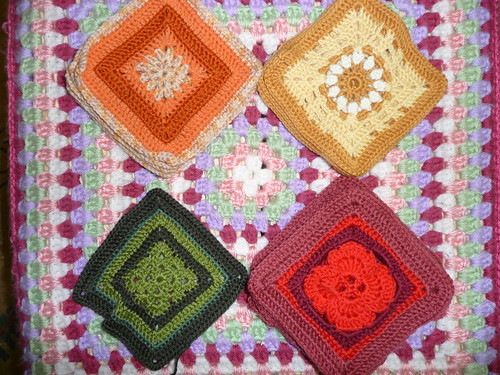 These are gorgeous Squares, great patterns! Brillaint colours!