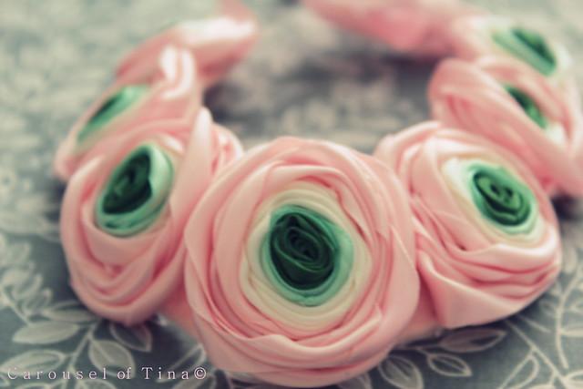 Ranunculus Necklace