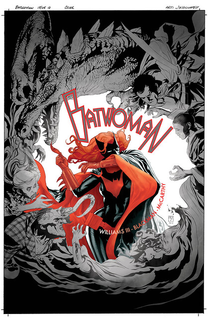 Batwoman 10-cover logo