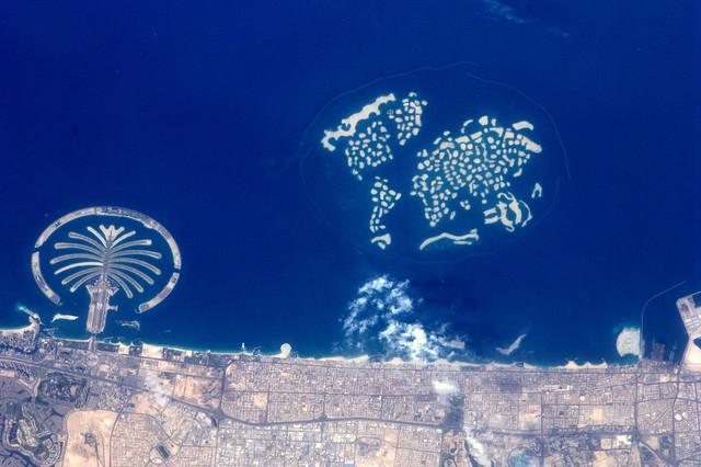 De kleine palm en de aarde, Dubai