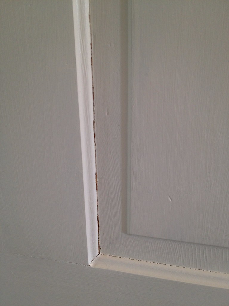 Wood Shrinkage Happens: Fixing Unsightly Paint Cracks - Old Town Home