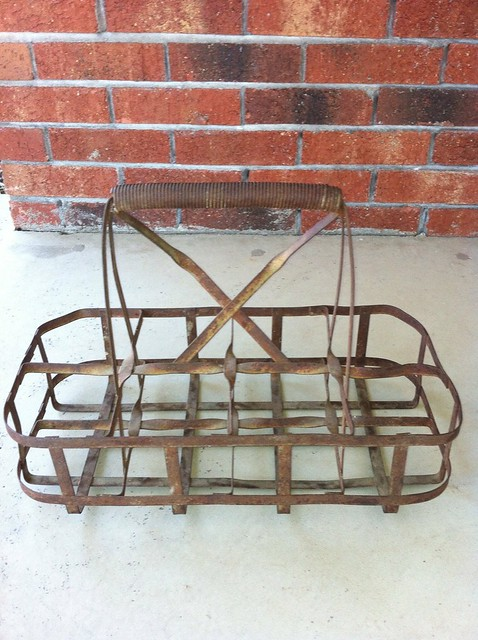 Vintage Milk Carrier - Before 2