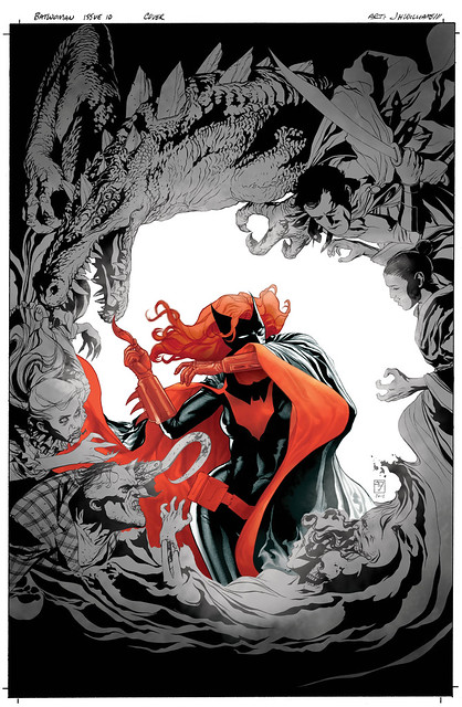 Batwoman 10-cover color