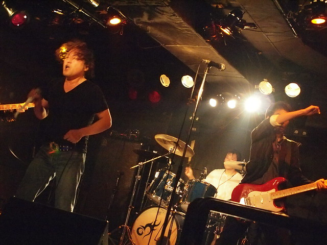The Shepherd's Bush Irregulars live at Outbreak, Tokyo, 17 Sep 2011. 070