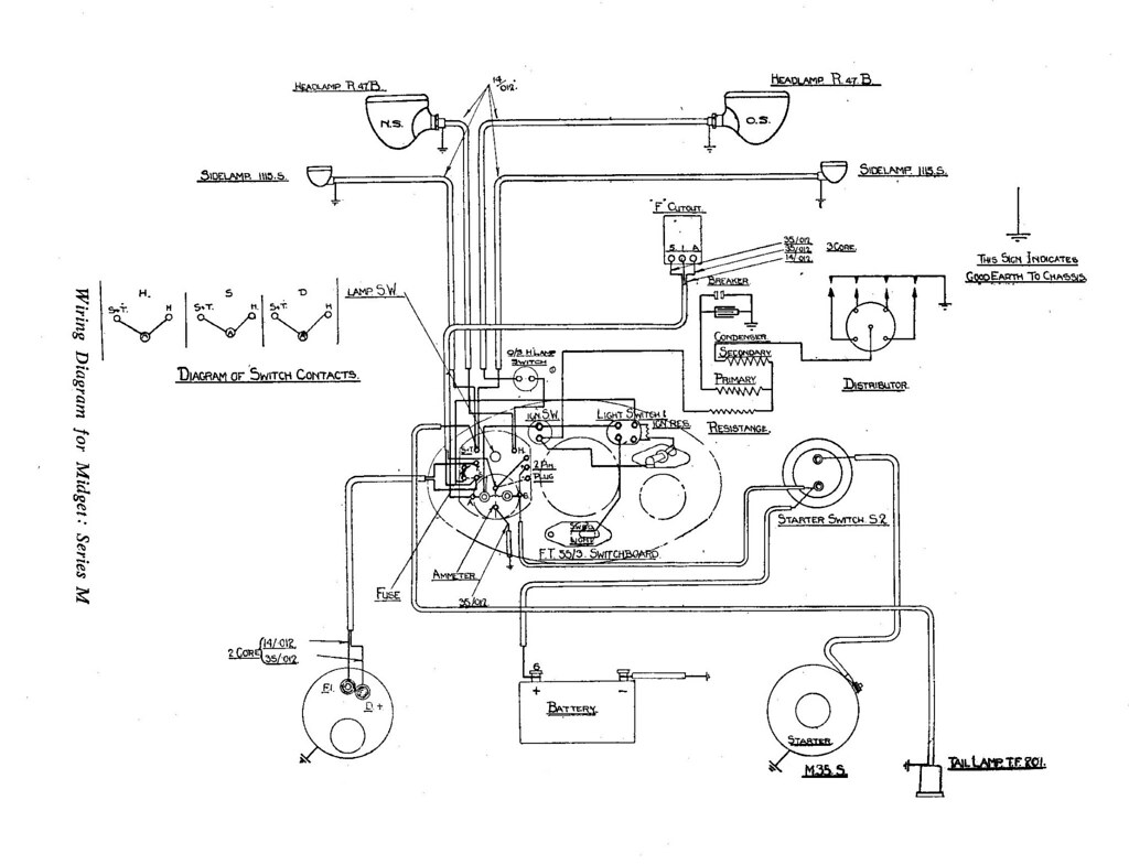 1951 willys jeep wiring diagram