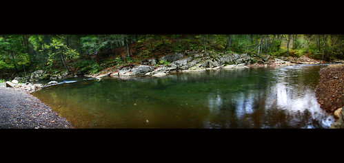 panorama copyright nature river landscape virginia woods allrightsreserved highlandcounty tiltshifteffect bullpastureriver mzuiko1442 dioramaartfilter 10photopanoramicstitch ©daveelmore