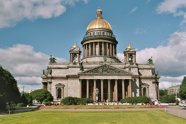 St Petersburg, St Isaac Cathedral by Flickr CC Arian Zwegers