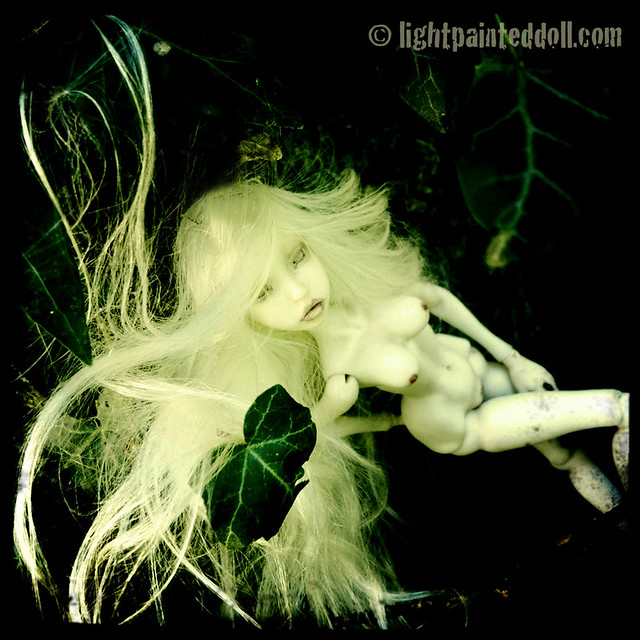 Lightpainted Dolls- my OOAK artist BJD's made in porcelain and resin