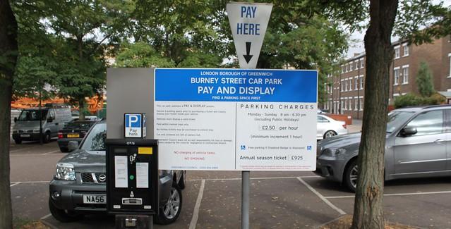 Burney Street Car Park