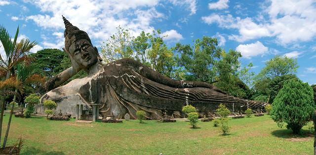 Bouddhapark, Laos, Southeast Asia
