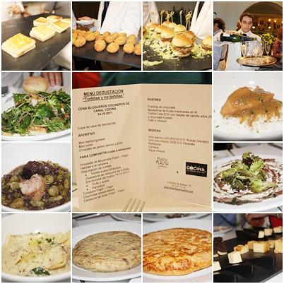 Cocinando entre olivos cena blogueros cocineros canal cocina for Cocinando entre olivos