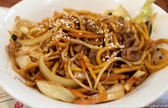 produce(0.0), noodle(1.0), mie goreng(1.0), bakmi(1.0), shahe fen(1.0), fried noodles(1.0), beef chow fun(1.0), lo mein(1.0), pancit(1.0), meat(1.0), hokkien mee(1.0), char kway teow(1.0), food(1.0), dish(1.0), yakisoba(1.0), chinese noodles(1.0), yaki udon(1.0), pad thai(1.0), cuisine(1.0), chow mein(1.0),
