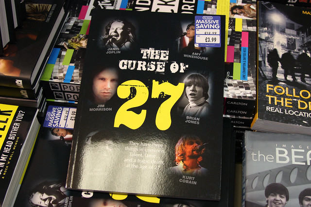 THE CURSE OF 27 - They have three things in common - Talent, Fame...and a Tragic Death at the age of 27. The 27 Club. Forever 27.