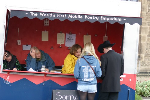 Durham - The Poetry Takeaway at Durham Book Festival