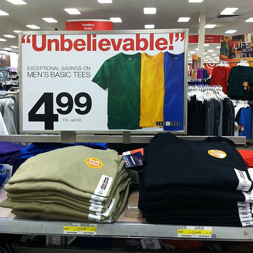 Blatant false advertising since @target doesn't stock any yellow clothing. I just found out the hard way.