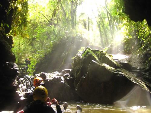 Black Water Rafting -  Waitomo Caves - NZ