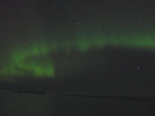 Ziemeļblāzma Tūjā 24/25 oktobris 2011