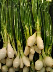 vegetable, plant, produce, food, scallion,