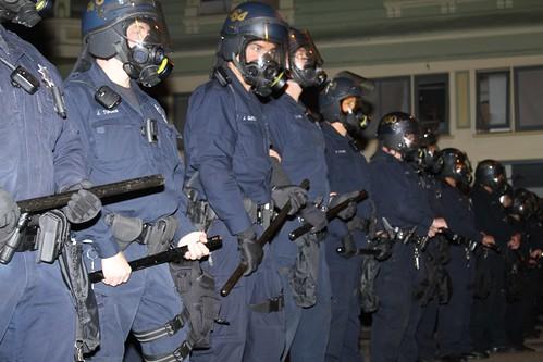 Occupy Oakland Riot Police
