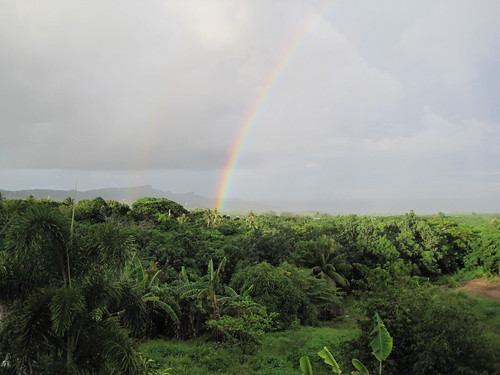 Rainbow on Saipan