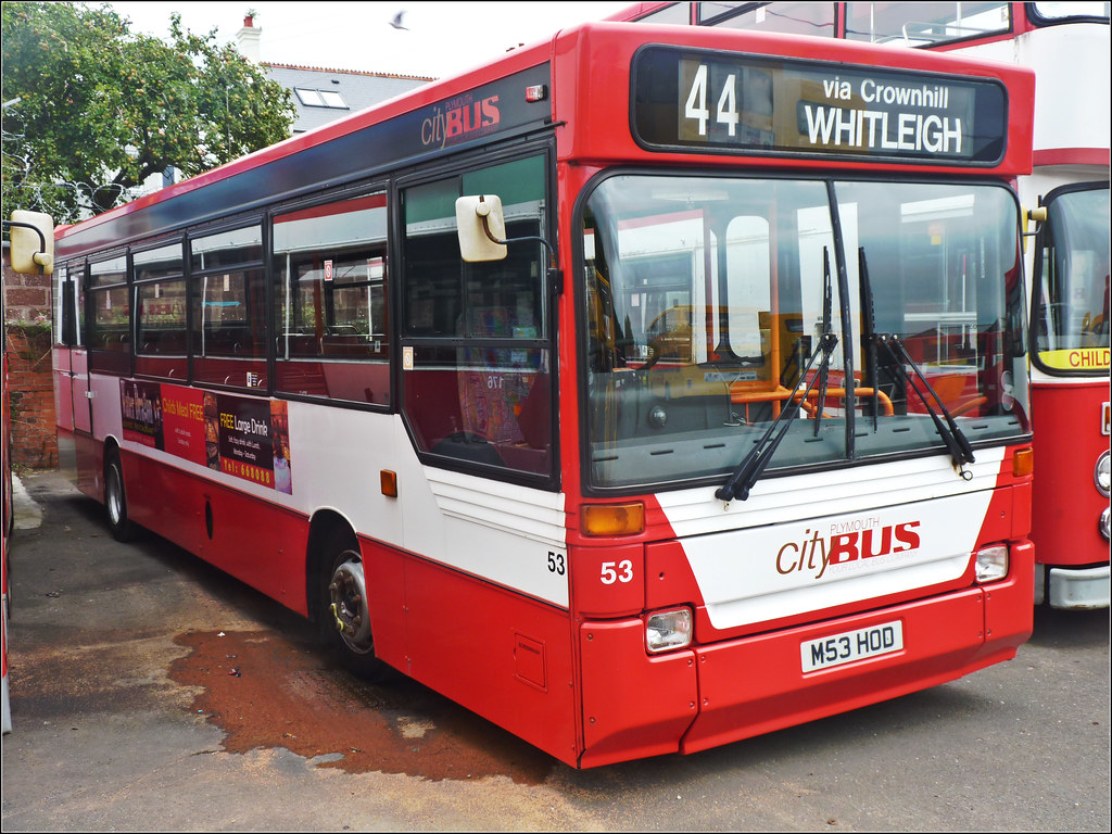 Plymouth Citybus 53 M53OD