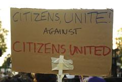 Citizens united against Citizens United