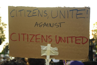 Citizens united against Citizens United