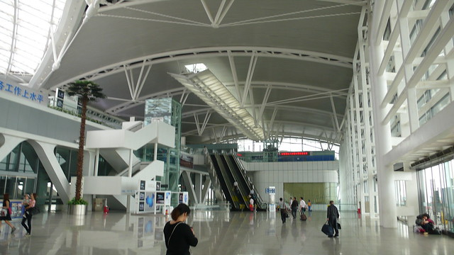 GUANGZHOU SOUTH RAILWAY STATION (CRH - HIGH SPEED RAIL)  - CHINA