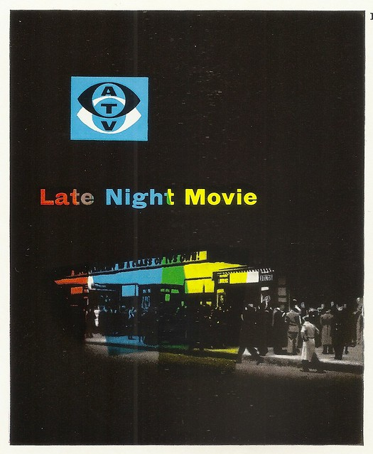 ATV Late Night Movie brochure - issued by Associated Televison, c1960