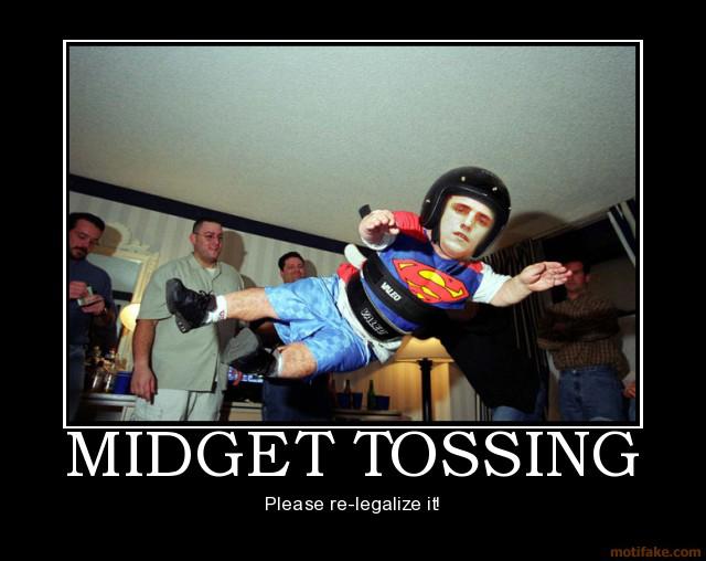 Toss the midget
