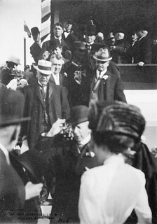 Sir Wilfrid Laurier at New Westminster, British Columbia, August 24, 1910 / Sir Wilfrid Laurier à New Westminster, Colombie-Britannique, 24 août 1910