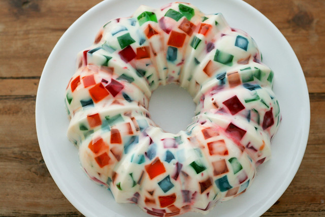 Jello Stained Glass Cake Recipe