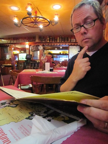 Perusing the Menu