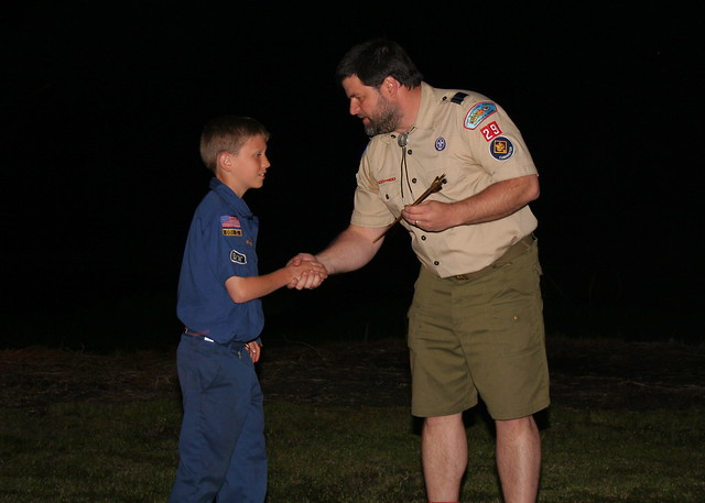 1.Cub Scout-Arrow of Light Ceremony 2009