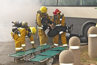Mass Casualty Exercise - U.S. Army Garrison Humphreys, South Korea - 2 November 2011