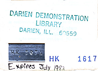 Darien Demostration Library Card | by IndianPrairie