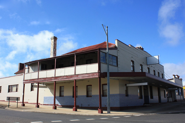 Former Royal Hotel, Glen Innes, NSW.