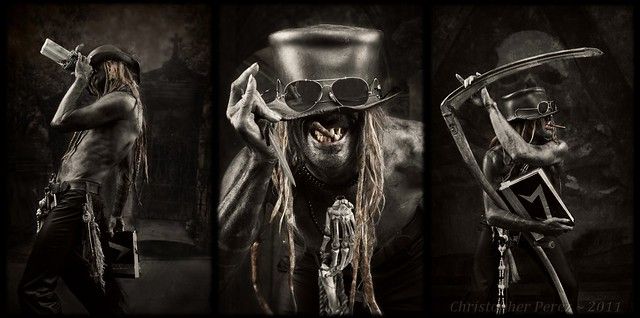 Three Phases of Baron Samedi