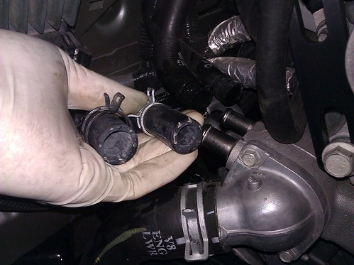JDP Motorsports' 2010-11 SS Heater Hose 2012 Update DIY 6360360177_4641423a25