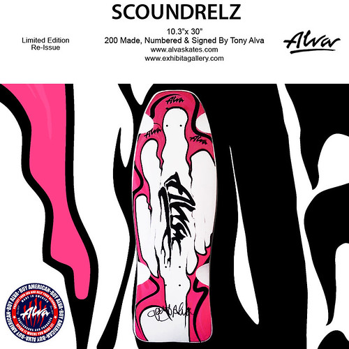 ALVA Skates 'Scoundrelz' by billy craven