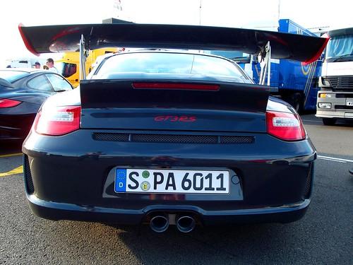 Porsche GT3 RS - Rear